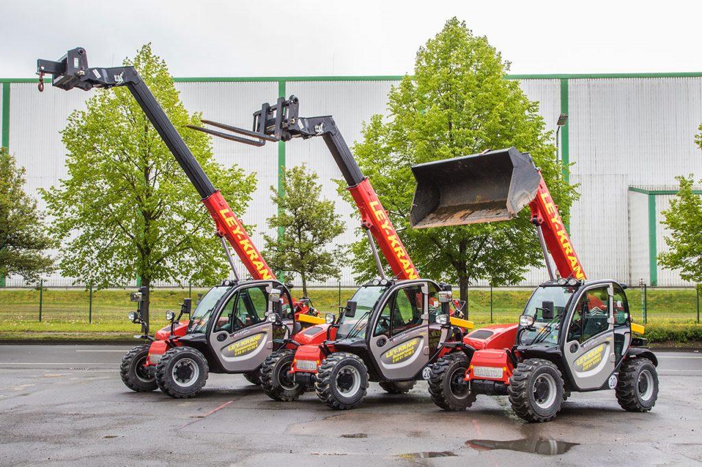 NEU im Fuhrpark – Manitou Kompakt – Teleskoplader MT625H & MT 1030 easy